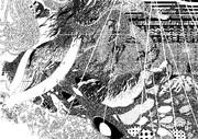 橋の上から小雨模様を望む 2/4