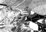 橋の上から小雨模様を望む 4/4