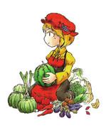 8月31日だったので野菜の日