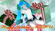 【ミク誕】Happy Birthday!【2014】