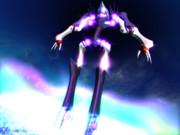 "【MMD】""The Warrior"" 現地創世代_一核双成融合体。(1024 x 768)"