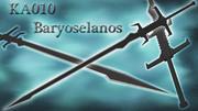 【MMD武器】KA010 Baryoselanos / バリオセラノス 【大剣】