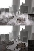 【MME】雲のような霧のようなパーティクルエフェクト