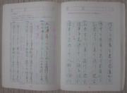 ニワカのペン習字講座 / S字 (Z字) を常に意識すべし!