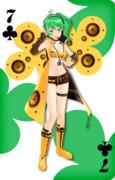 【MMD】MMDトランプ クラブ7 幸運の台湾出世娘SONIKA