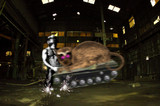 サイクロップス先輩vs淫獣戦車