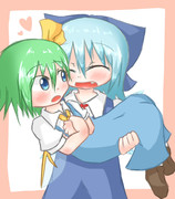 お姫様抱っこしたいチルノちゃん