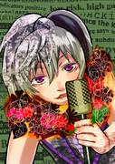 【VOCALOID】flowerイラスト