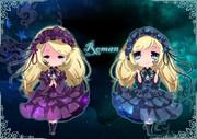 双子の人形