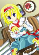 人形とお茶会アリス