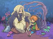 マキマキの森の魔物と子供