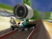 【ジェットエンジン選手権】ジェットトロッコ-3