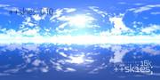 ++skies; 010 [16k8k/8k4k素材配布]