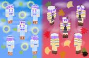 【結月祭素材】夏・秋ゆかり【Minecraftスキン】