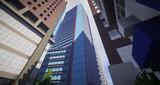 【Minecraft】駅前超高層オフィスビル