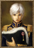 白髪の騎士