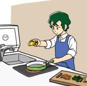 ブライトさんの野菜炒め①