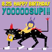 よーすぴさんお誕生日ボード