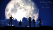 【進撃のMMD】リヴァイ班のお月見