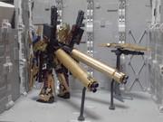 RX-0 ユニコーンガンダム3号機if フェネクス・リザレクト FA形態 背面画像【説明文必読】