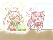 うーん、野菜か...