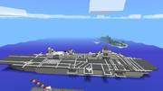 【MinecraftPE軍事部】強襲揚陸艦アッシュ【オリジナル】