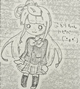 ことりちゃんハピバ(`・8・´)