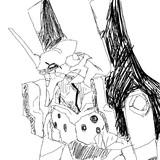 EVA初号機を突貫工事で描いてみた