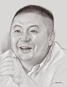 松村邦洋さん似顔絵