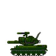 MSドット風74式戦車