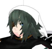 【MMDアクセ配布あり】ありのままの三角巾