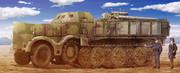 8.8cm砲搭載型18tハーフトラック