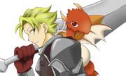旅する剣士とドラゴン