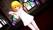 【MMD】成長フランちゃんが寝る前の軽い体操【ねまき】