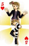 【MMD】MMDトランプ ハート5 兄(c)が好きって言ってたから髪型を変えない亜実