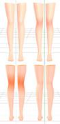 【データ】膝伸縮濃度モーフ参考配布【配布】
