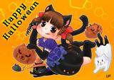 黒猫ペコちゃん
