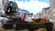 新型増加装甲?・・・あーさんも満足?