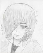 トーカちゃん【鉛筆】