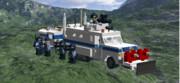 LDDで装甲車作ってみた(SWAT用)