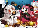深海棲艦とお菓子の魔女