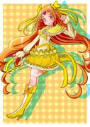 キュアミューズ(黄色い方)