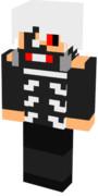 【Minecraft】スキン 「白金木」東京喰種