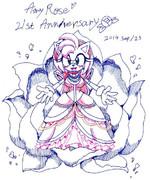 Amy Rose 21st anniversary♡