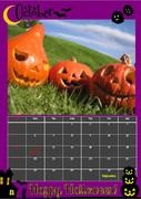 2014年10月カレンダー
