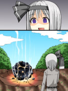 自分の畑に隕石が落ちたbiim兄貴