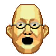 ドットハゲ島教授