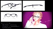 【MMD】例の眼鏡~もう、お前しか見えない~【アクセサリ配布】