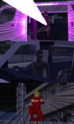 【MMD】夜道の一人歩きは…   続き