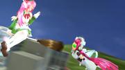 【第一回滅多に見ない二人組選手権】ピンク髪ロボ娘